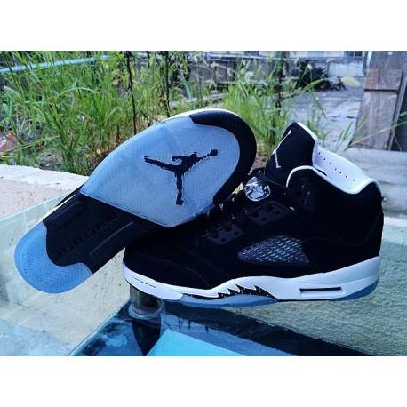 new arrivals cc17e 22658 Air Jordan Oreo 5 For Sale,Air Jordan Oreo 5,Air Jordan 5 AJ5 Oreo Womens  Air Jordan 5 AJ5 OREO GS 440888-035