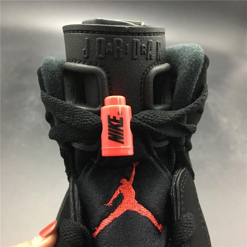 fake jordan 6 infrared black