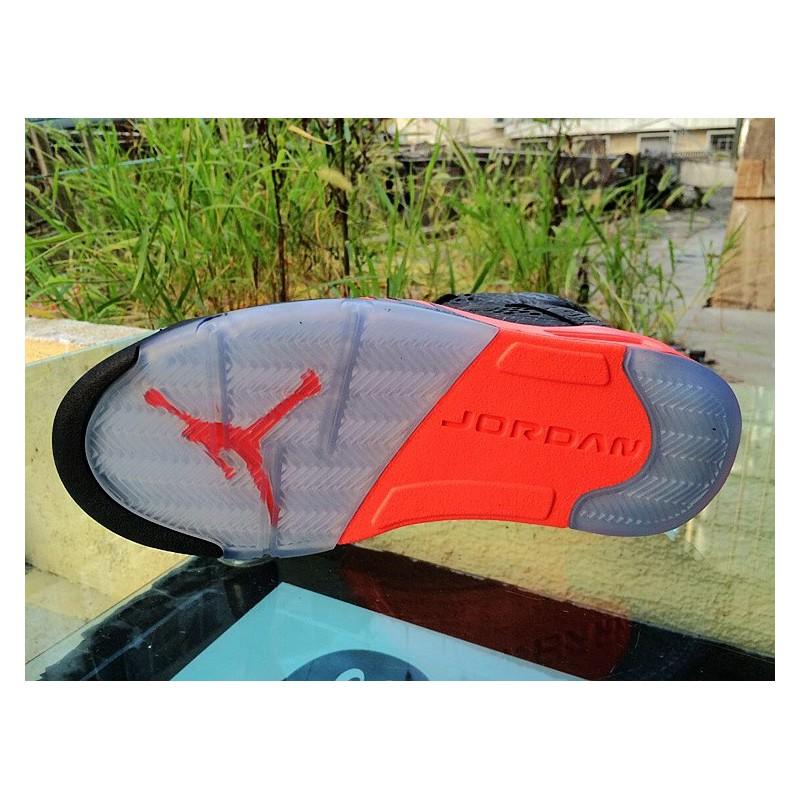 Air Jordan 5 Aj5 Bred Burst Crack Air Jordan 5 3LAB5 Aj5 599581-01 ... 76bbd0662a12