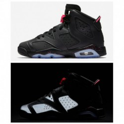 Deadstock / pre-sale / Air Jordan 6 Gg Hyper Pink Black 3m Underply Visible Outside 543390-00