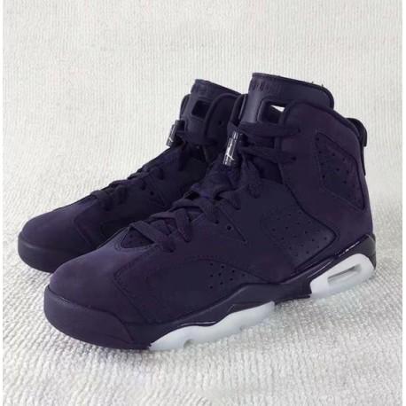 318363253c82 New Sale Air Jordan 6 Retro GS Aj6 Beauty Purple 543390-50