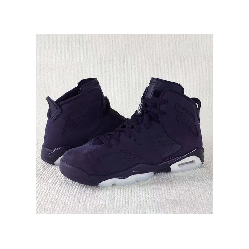 0645128d07bd ... Air Jordan 6 Retro GS Aj6 Beauty Purple 543390-50 ...