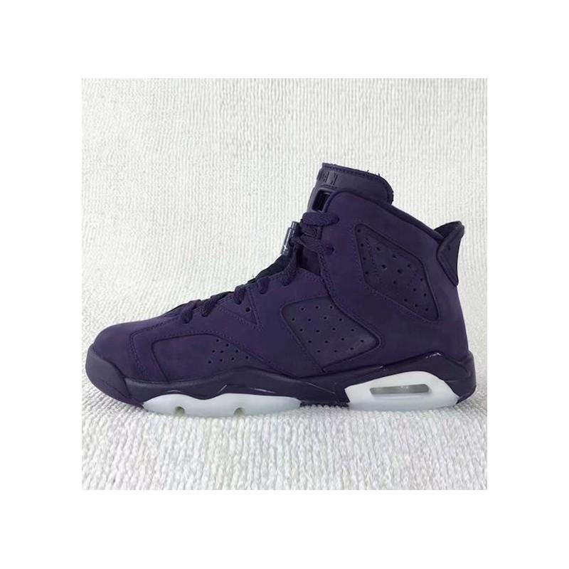 6619b1ffd803 ... Air Jordan 6 Retro GS Aj6 Beauty Purple 543390-50
