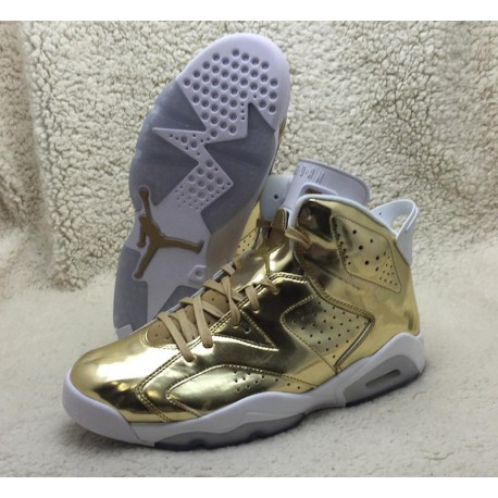 new product 22599 e0ac3 Air Jordan 6 Pinnacle Gold,Air Jordan 6 Gold Pinnacle,Air Jordan 6 Gold  Saint Cloth ColorWay Air Jordan 6 Pinnacle Gold 854271-