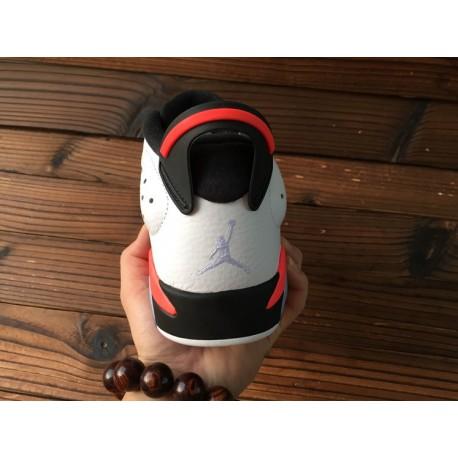 the latest ac67a 31b14 Jordan Retro 6 - Girls' Toddler - Basketball - Shoes - Still  Blue/White/White-sku:45127407