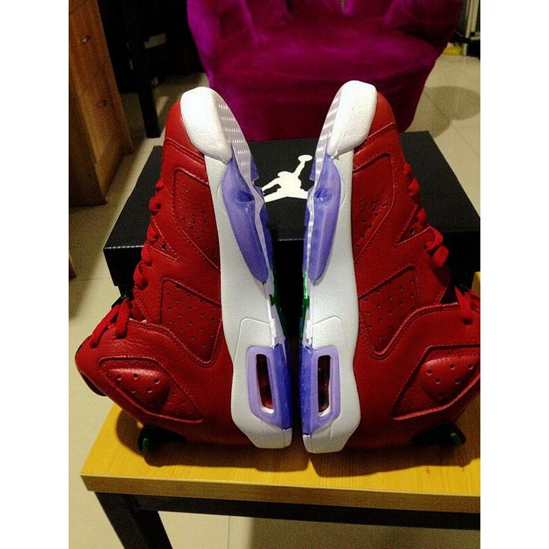 Red Air Jordan 6,Air Jordan Red Suede
