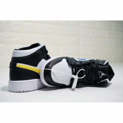 Air-Jordan-1-MID-All-White-Air-Jordan-1-MID-Black-And-White-Hot-cake--With-FSR-Womens--Air-Jordan-1-Mid-BG-Mid-All-match-BASKET
