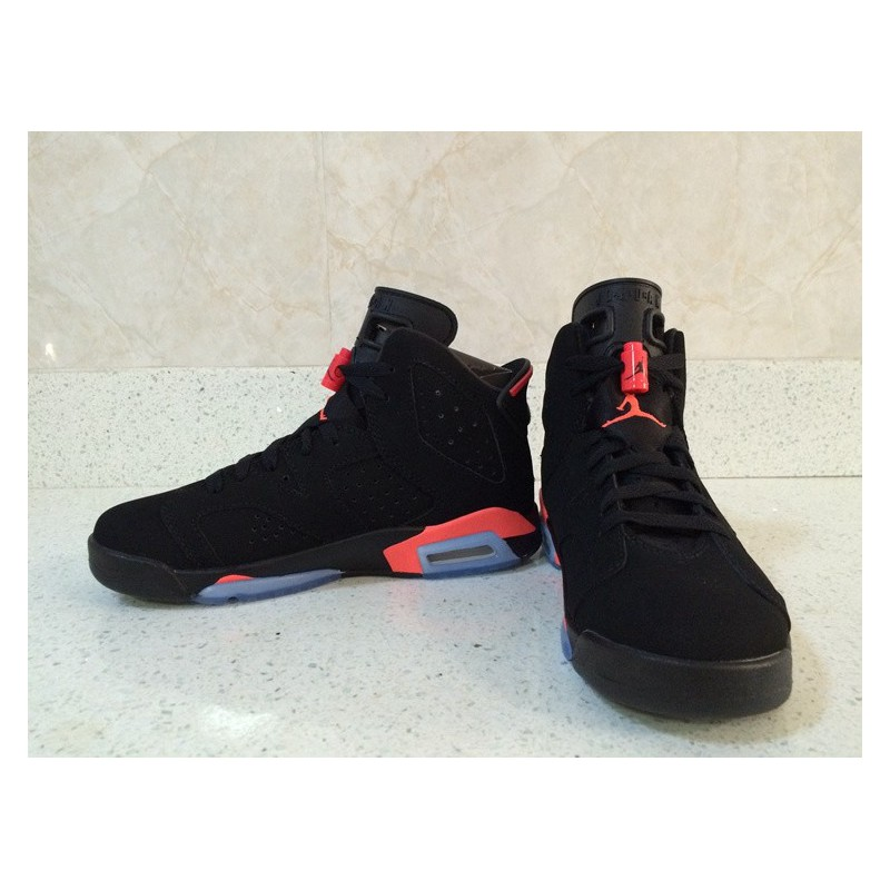 hot sale online 39178 69cbc ... Air Jordan 6 New Bred 3m Underply Visible Outside Couples Factory Goods  At The End Of ...