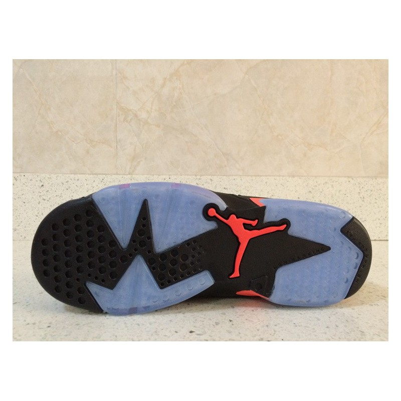 6e5756a256f715 ... Air Jordan 6 New Bred 3m Underply Visible Outside Couples Factory Goods  At The End Of