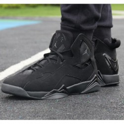 Pre-sale / air jordan true flight air jordan 7 strengthen couples black warrior 343795-01