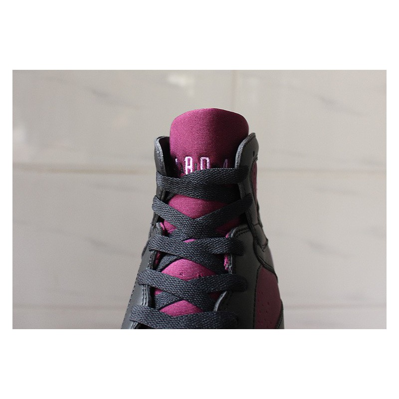 6a10fee11ee89e ... Pre-sale   Air Jordan 7 Mulberry GS Black Purple Strawberry Womens  442960-00