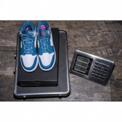 Hawaii Air Jordan 1 MID GS 555112-300 white/Blu