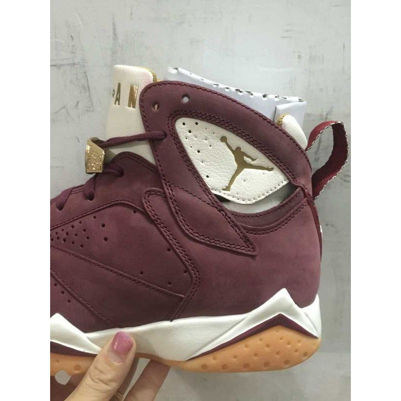 huge discount cb1b4 e3a50 ... Nike air jordan 7 champion aj7 cigar champagne 725093-140-63 ...