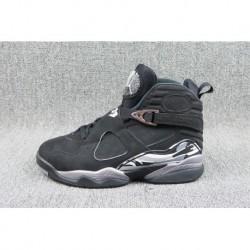 best sneakers 04b1c 9eb1a Air jordan 8 black silver original...