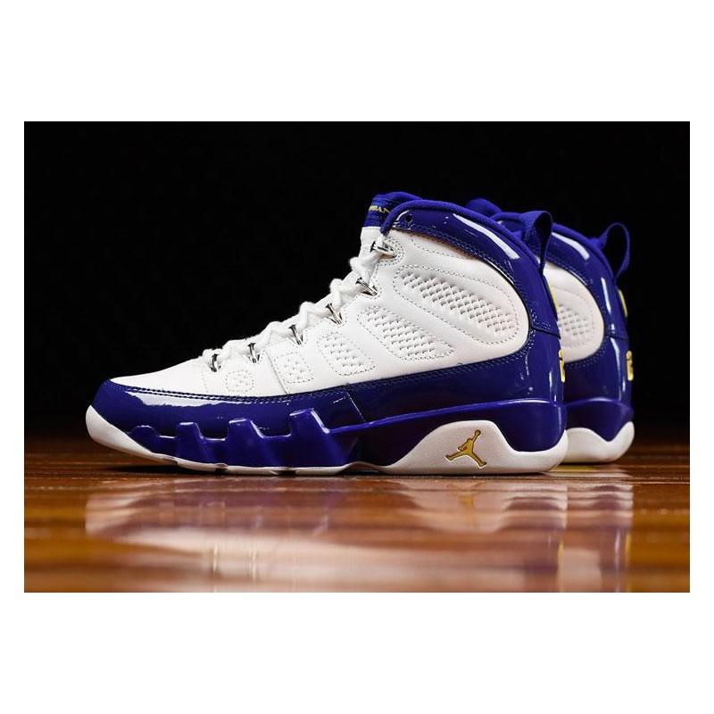 Air Jordan Retro 9 Lakers,Aj9 City Of