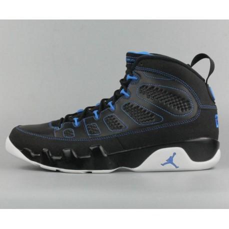 a17cf0adcba New Sale Air Jordan IX Retro Aj9 Black North Card Black Blue 302370-00