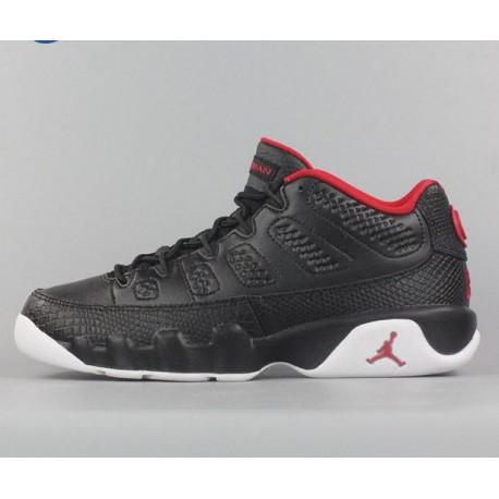 official photos 00908 1be3e Air Jordan 9 Retro Low Bred,Air Jordan Retro 9 Low Bred,Air Jordan 9 Low  Bred GS AJ9 Bred Women's 833447-001