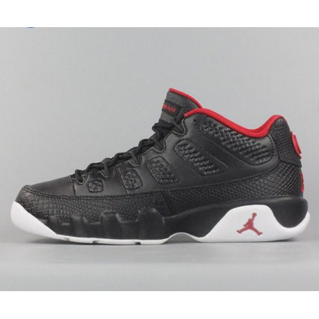 48a2c32380e3 New Sale Nike air jordan 9 low black aj9 bred north card 832822-001-40