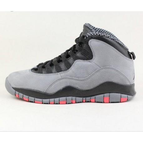 e5957f6b9f47 New Sale Nike air jordan 10 aj10 cool gray chicago 310805-02