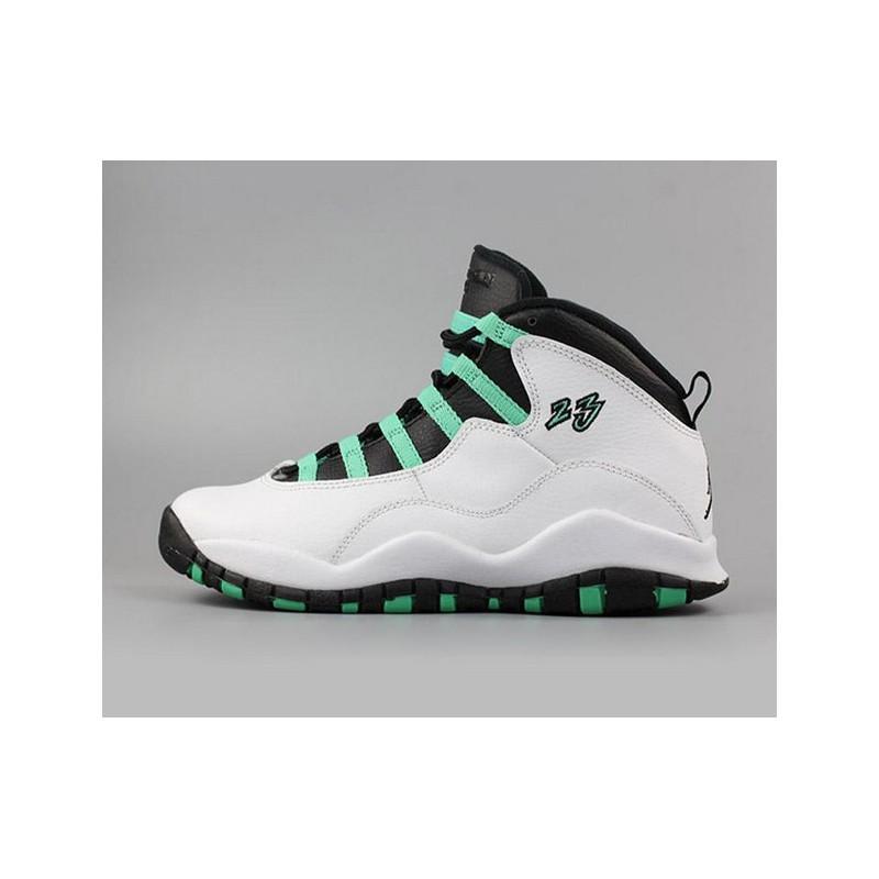save off 83c34 65621 Nike Air Jordan 10 Verde Aj10 Easter Egg 705180-11