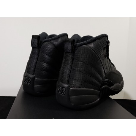 finest selection bd5d2 239db New Sale Bq6851-001 black warrior colorway dress up waterproof and warm air  jordan 12 released at