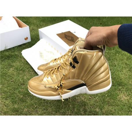 best service bead2 509c5 Air Jordan 12 Gold,Air Jordan 12 Retro Gold,AJ12 Local Gold Air Jordan 12  Pinnacle Gold 130690-103
