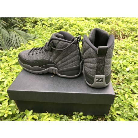 new style 1dd22 4c5d4 New Sale Aj12 Wool, Womens, Super Original Carbon, Imported Materia