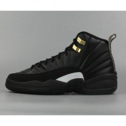 30d5d1ff8b0 Air Jordan 12 The Master Black Rattan White Metallic Gold,Air Jordan ...