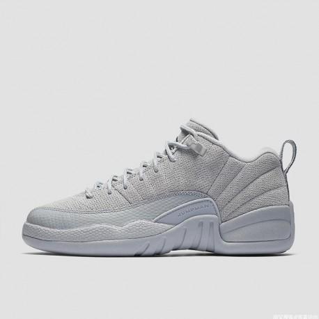 Low Retro Wolf Grey,Air Jordan 12