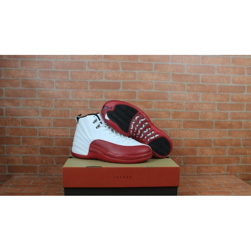 fluctuar Dentro mordaz  Air Jordan 12 White Red Retro,Air Jordan Retro 12 Red White,Air Jordan 12  Retro White Red BASKETBALL-SHOES 130690-110