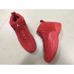 Air jordan 12 red sued