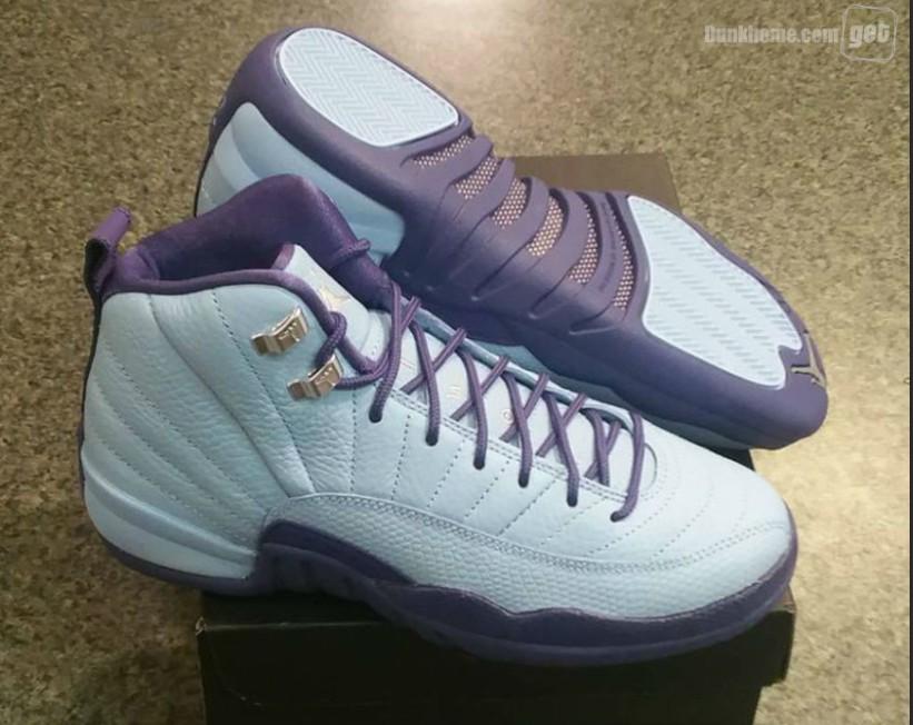 Black And Purple Air Jordan 12,Purple