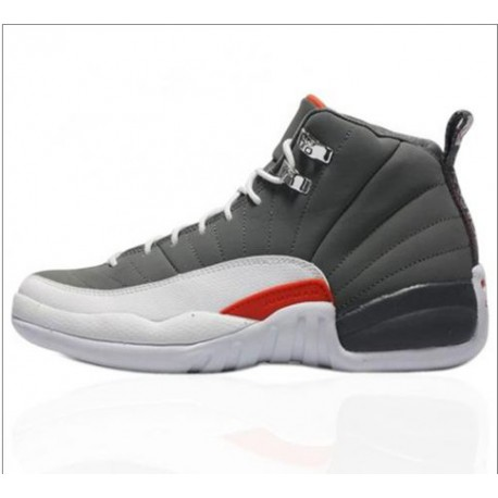 a8139f54b4a78 New Sale Air jordan 12 retro jordan 12 pale grey retro basketball-shoes  130690-01