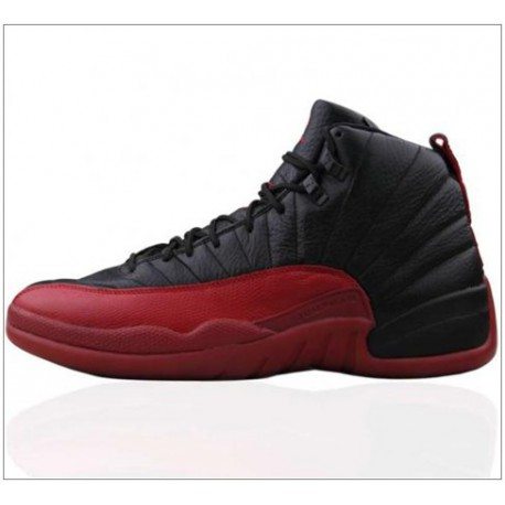 2d6b78704895 New Sale Air jordan 12 retro 03 year retro air jordan 12 bred  basketball-shoes 136001-