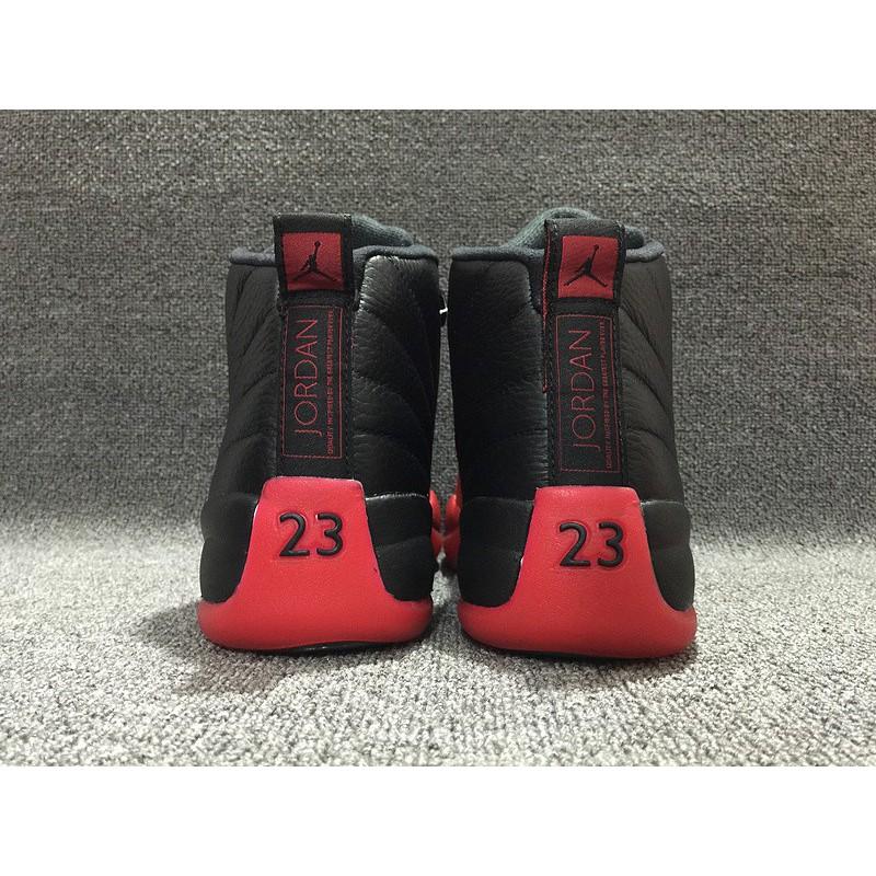 a0fa36e6cf6f1e ... Nike Air Jordan Flu Game Aj12 Bred Fell Ill 130690-00 ...
