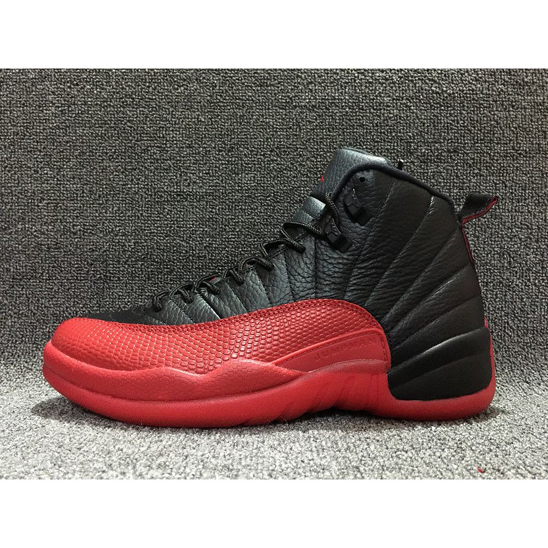 e12cf8a83817ef ... Nike Air Jordan Flu Game Aj12 Bred Fell Ill 130690-00