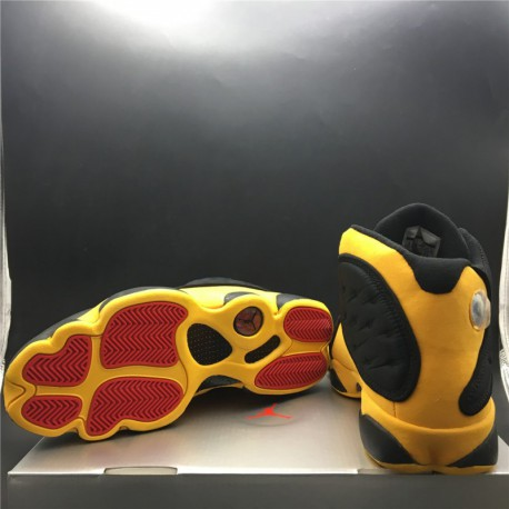 a1af00439d8 New Sale 414571-035 jordan 13 air jordan 13 melo class of 2003 black and  yellow anthony