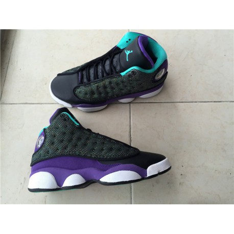 20bea87f295 Air Jordan 13 Retro Dark Purple Blue Womens Shoes,Air Jordan Womens ...