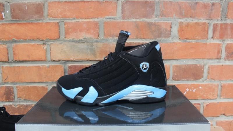 82533a7e70546e Air Jordan 14 Black University Blue
