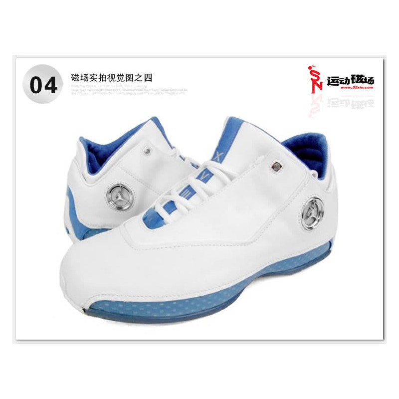 Low White Blue BASKETBALL-SHOES 306151-104