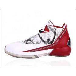 Air jordan 22 white red original last shot basketball-shoes 315299-16