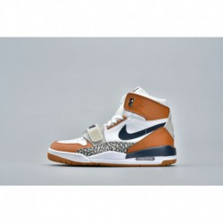 Air jordan legacy 312 blue brown white aq4160-140 men