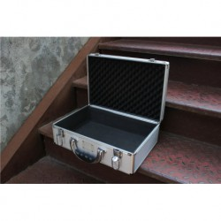Aj jordan limited edition bespoke multi-function aluminum alloy box storage box can accommodate a pair of shoe