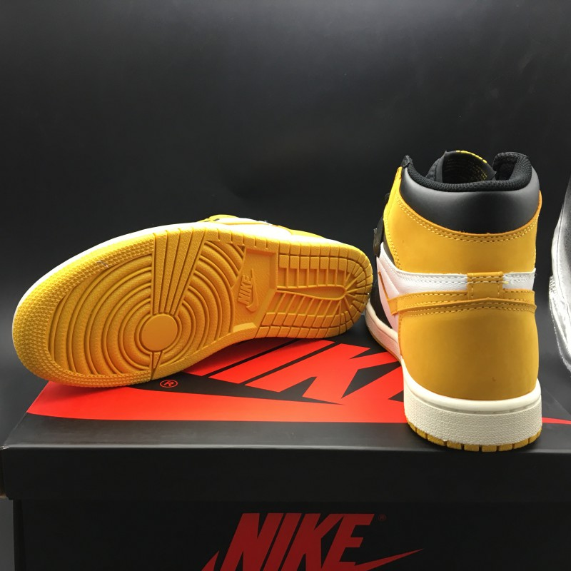 4e6180aca102 ... 555088-109 air jordan 1 yellow ochre yellow suede black to ...