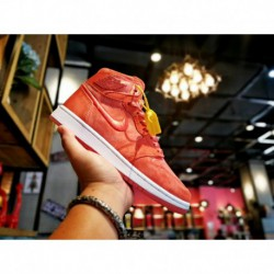 Air-Jordan-1-MID-Red-Air-Jordan-Retro-1-Red-Air-Jordan-1-Red-Female-Code-Dongguan-Original-Outsole-Open-Edition-Distinguish-the