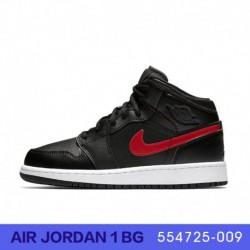 Air Jordan 1 Aj1 Womens GS Basketball-Shoes 554725 00