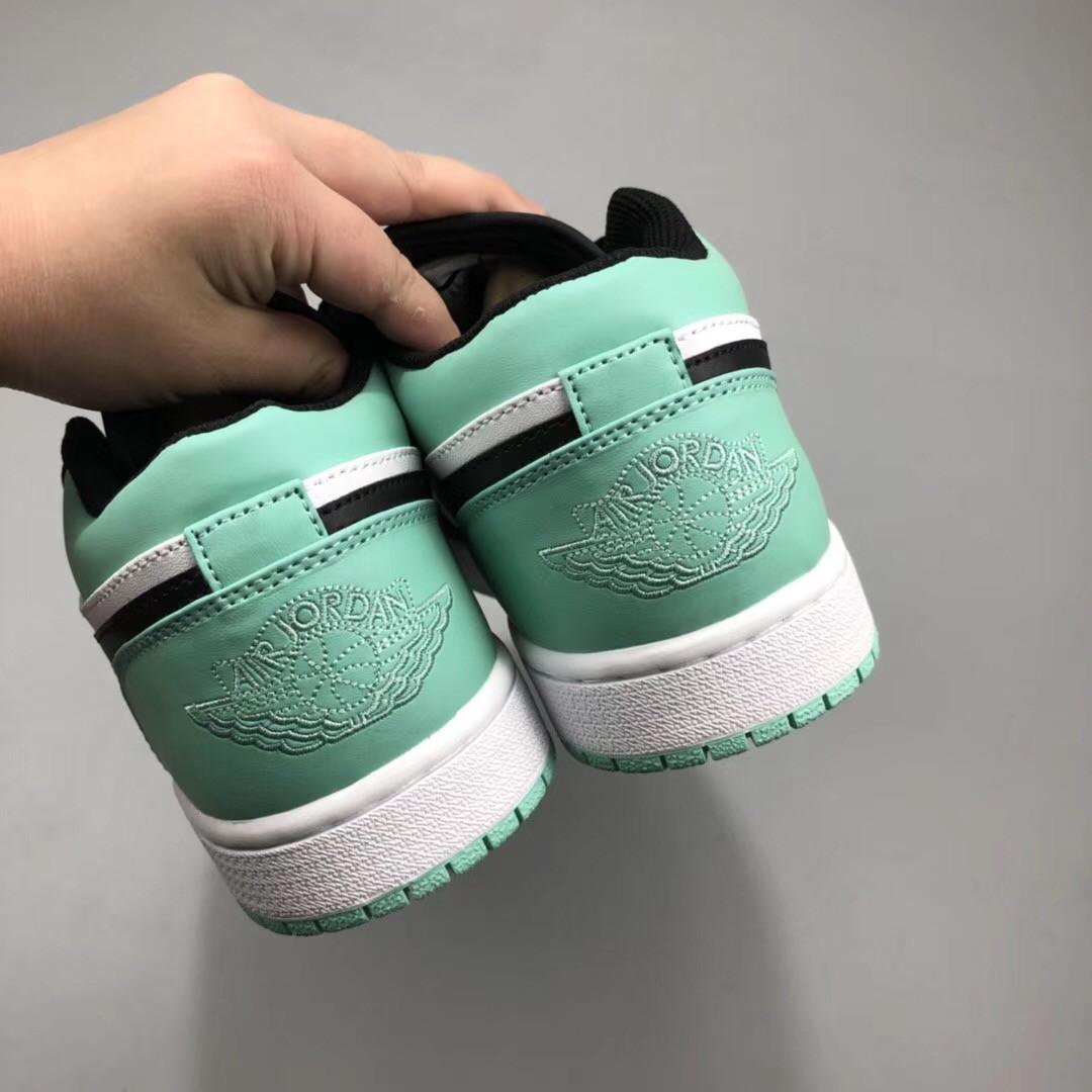 Air Jordan 1 Green White Black,Air