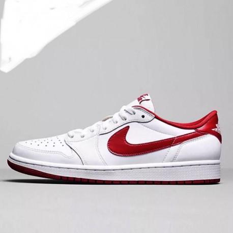 san francisco 2d308 79a66 Jordan Aj1 Red White Black,Jordan Aj1 MID White Red,Air Jordan 1 AJ1 white  red female 70999 101