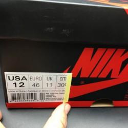 555088-403 Quality Inspection Air Jordan 1 Retro High OG Game Royal White Blue Premium Original Import Materia